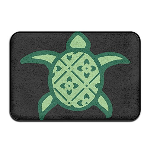 Youbah-01 Indoor/Outdoor Door Mats With Hawaii Aloha Turtle Graphic For Patio Or Entryway by Youbah-01