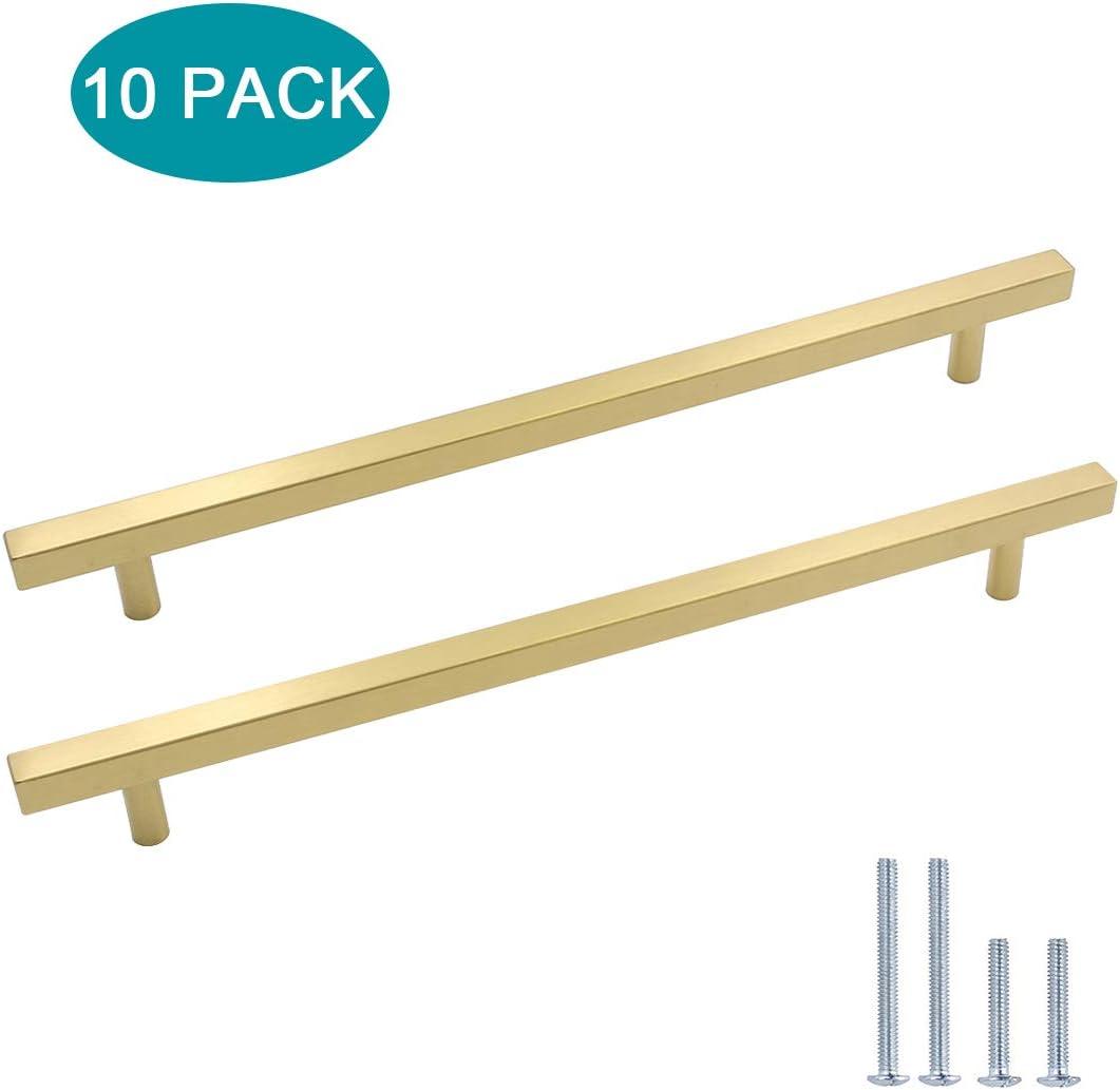 1 Piece 64mm Kitchen Door Drawer Handles LONTAN Gold Cupboard Knobs Stainless Steel Bedroom Wardrobe Handlees LS1212GD