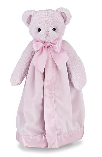 Amazon Com Bearington Baby Huggie Bear Snuggler Pink Teddy Plush