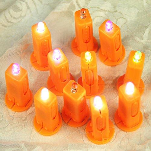 Lanlan 1Pcs LED Electronic Wick Paper Lantern Wick Hot Air Balloon Candle
