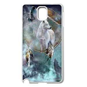 D-PAFD Customized Print Wolf Dream Catcher Hard Skin Case Compatible For Samsung Galaxy Note 3 N9000