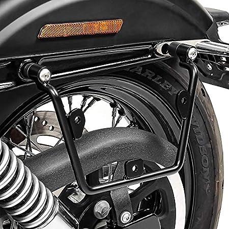Satteltaschenhalter Kompatibel Für Harley Dyna Street Bob 06 17 Links Rechts Auto
