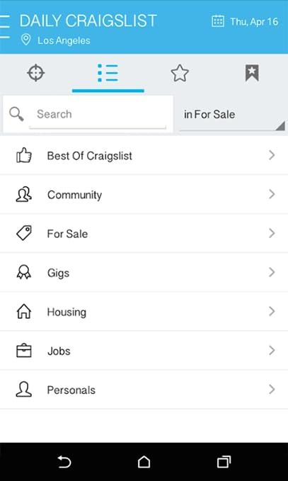 DAILY for Craigslist App