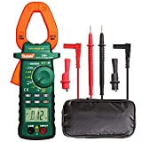 Auto-Ranging Digital Clamp Meter Multimeters,Multimeter AC/DC Voltmeter with Voltage, AC Current, Amp, Volt, Ohm, Diode and Resistance Test Tester