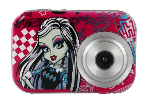 Monster High 2.1MP Pink Digital Camera by TECH TRAINING