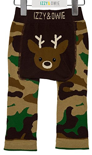 Izzy & Owie Baby Leggings, 12-24 Month, Camouflage Pavilion Gift Company 79247