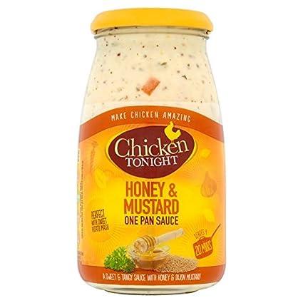 Amazon Com Chicken Tonight Honey Mustard Sauce 500g Grocery Gourmet Food