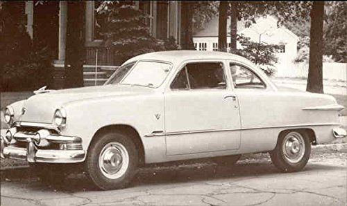 1951 Ford Club Coupe Cars Original Vintage Postcard ()