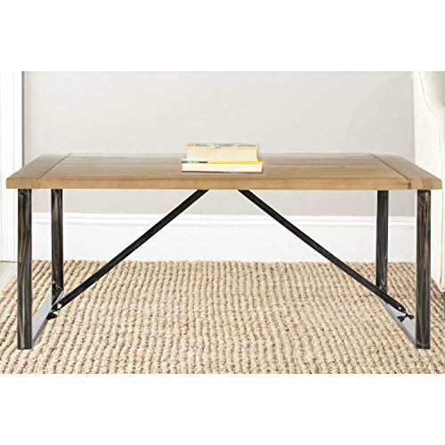 Safavieh American Homes Collection Chase Natural Coffee Table