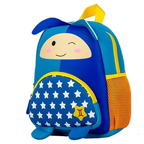 CLOOM zaino, Ragazze Guscio D'uovo Backpack Carina 3D Bambini piccoli Ragazze Ragazzi Costellazione dei cartoni animati Cerniera Zaino Spalla scolastica Borse C