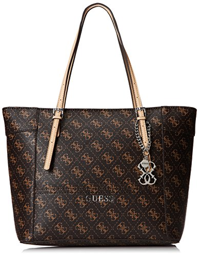 GUESS Delaney Small Classic Tote Brown