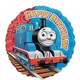 Thomas The Tank Engine & Friends 18'' Round Happy Birthday Helium Balloon by Cartoon Balloons