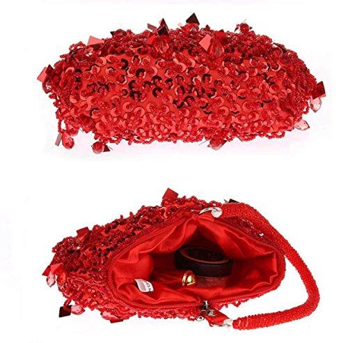 Pour De Partie Red De D'embrayage Robe Mariage Mini Sac Main Filles Nouveau Sac Soirée GSHGA Les Clubs Mode De De à De Cheongsam Red Sac Des Robe Mariée zHFOBwqx4