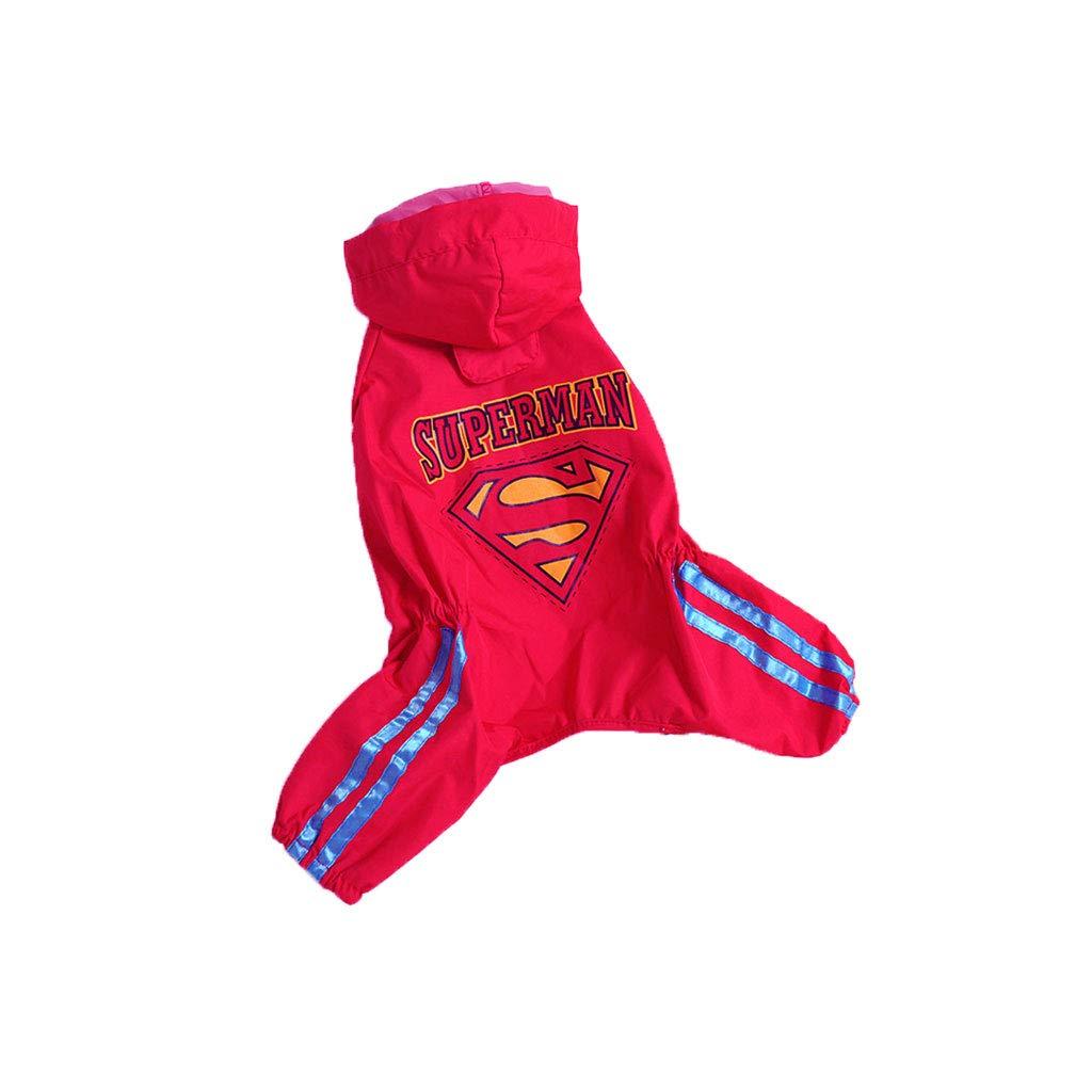2L Pet Travel Bag Dog Raincoat jinmaotai Four feet Waterproof All-Inclusive Poncho Summer pet Clothes (Size    2L)