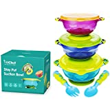 MICHEF Stay Put Suction Bowl, Spill Proof, Baby Bowls...