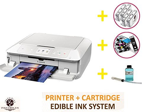YummyInks Brand DELUXE PACKAGE 2: YummyInks Brand CANON PIXMA MG7720 BUNDLED PRINTING SYSTEM - INCLUDES EXTRAS