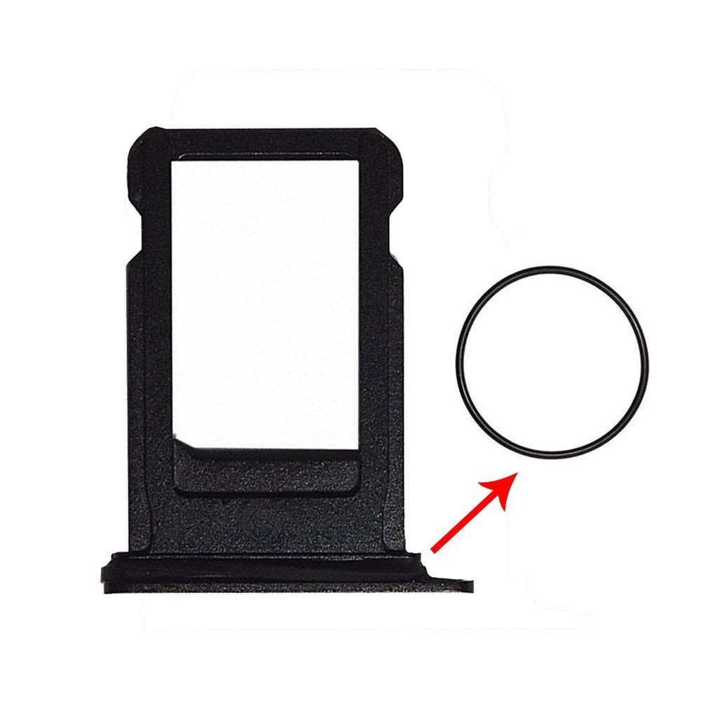 Cloth LIBAI-V Sim Tray Holder Compatible with iPhone X with Removal Ejet Pin Black