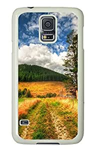 awesome Samsung Galaxy S5 case Beautiful Natures PC White Custom Samsung Galaxy S5 Case Cover