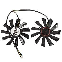 2pcs/lot PLD10010S12HH 12V 0.35A 94mm Cooling Fan For MSI GTX770 R9-280X R9-270X R7-260X Graphics/Video Card Fan