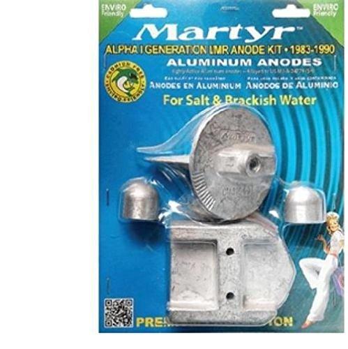 Martyr MERCRUISER Aluminum Anode ZINC KIT Alpha Generation 1
