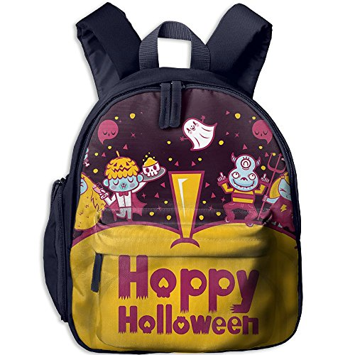 HUEH Outdoor Monster's Halloween Party Kids Snack Backpack School Book Bags Gift For Toodle Teen Boys (Halloween Snacks For Toddlers)