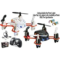 Estes 4606 Proto X Nano R/C Quadcopter (Colors Vary) w/ FREE 2x Lectron 100mAh Lipo Battery Packs