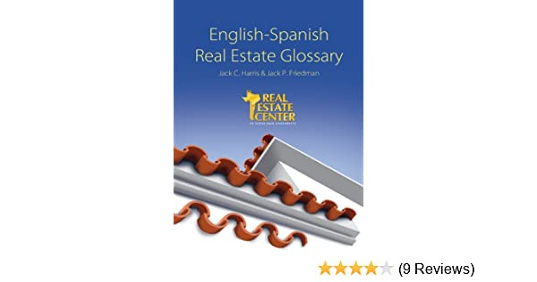 English-Spanish Real Estate Glossary