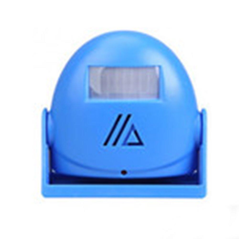 Infrared Sensor Welcome Doorbell Electronic Doorbell Welcome Device Sensor Doorbell Shop Store Visitor Home Guest Entry Doorbell Detector Alarm Advertising Guide (blue)