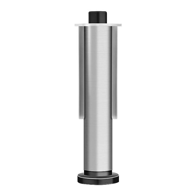 Gewinde: M14, kleiner Inbuskopf, Schleifwalzenbreite: 100 mm, Keilwelle: 19 mm, f/ür MSW-BUR400AKK MSW Spanndorn Satiniermaschine Walzenschleifmaschine MSW-BURP14