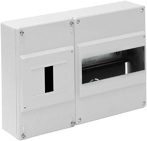 Solera 697B - Caja para ICP y distrib.Superficie.De 277x188x55.Distribución hasta 8 elementos.Blanco.: Amazon.es: Bricolaje y herramientas