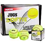 Jugs Softie 12-Inch Softballs (One Dozen)