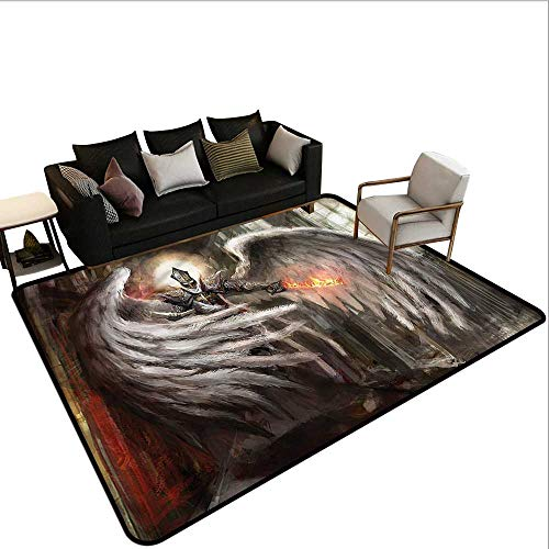 (Fantasy World,Floor Mat Kitchen Long Carpet 80