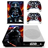 old xbox controller skin - Vanknight Xbox One S Slim Console Remote Controllers Skin Set Vinyl Skin Decals Stciker Cover for Xbox One Slim (XB1 S) Console