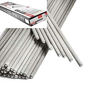 STARK Electrodos de Soldadura - Rutilo Acero Profesional 3 x 350 mm - ca. 88 Pzas 2,5Kg: Amazon.es: Bricolaje y herramientas
