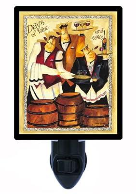 Night Light - Days of Wine - Italian Chef and Wine - Waiters