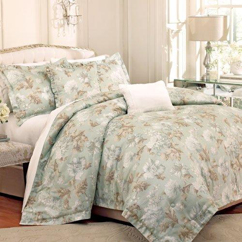 Raymond Waites Soiree 5 Piece King Comforter Set Blue / Multi