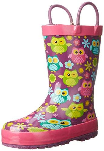 Western Chief Flower Owls Rain Boot (Toddler/Little Kid/Big Kid)