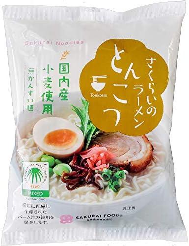 桜井食品 さくらいのラーメン とんこつ 103g ×20個
