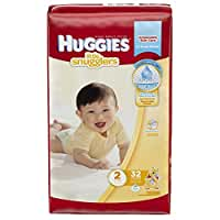 Huggies Little Snugglers Diapers - Size 2 - 32 ct