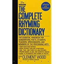 The Complete Rhyming Dictionary: Updated and Expanded