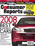 img - for Consumer Reports, April 2008 Issue book / textbook / text book
