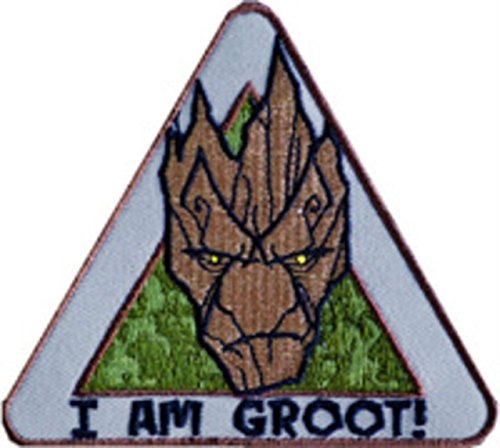 Guardians Of the Galaxy I AM GROOT Logo Crest Embroidered Patch -