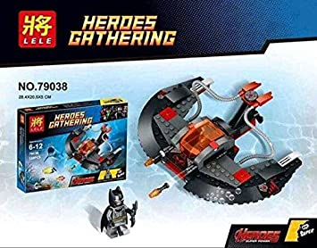 Amazon com : LELE 79038 Building Blocks Super Heroes