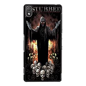 Hottest Disturbed Phone Case Cover For Sony Xperia Z3 Disturbed Fashionable