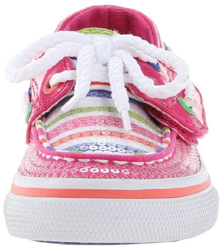 Sperry Kids BAHAMA JR CG48932 Pailletten Mädchen Sneaker Pink (Pink)