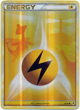 Pokemon Legends Call of Legends Pokemon Single Card Lightning Energy  91 Common 489ef1