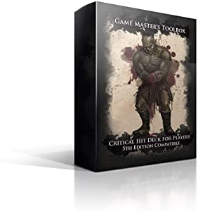 Nord Games: Game Master's Toolbox - Critical Hit Deck for Players