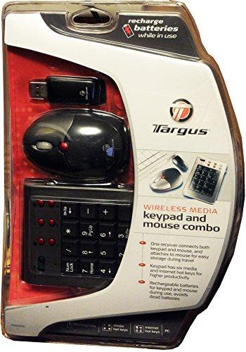 Targus Wireless Keypad Mouse PAKP003U