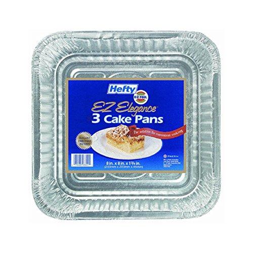 Square Cake Pan (Foil Square Cake Pans)