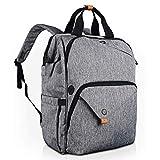 Hap Tim Laptop Backpack 15.6/14/13.3 Inch Laptop Bag Travel Backpack for Women/Men Waterproof School Computer Bag Large Capacity Bookbag for College/Travel/Business (7651EU-G)